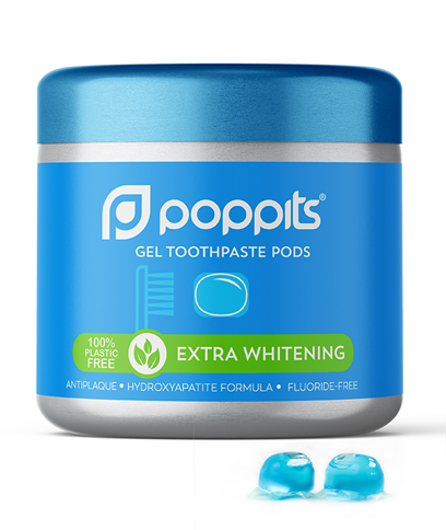 extra whitening toothpaste pods